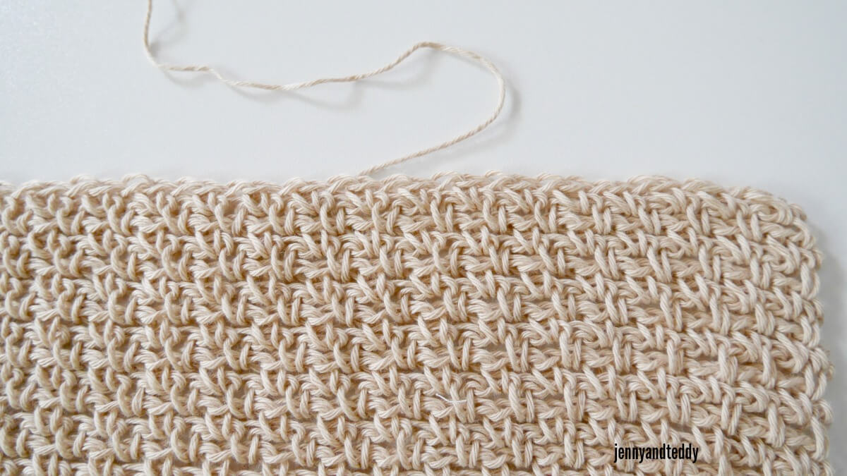 easy moss crochet stitches
