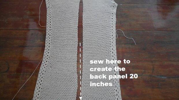 summer cotton vacation cardigan free crocheet pattern