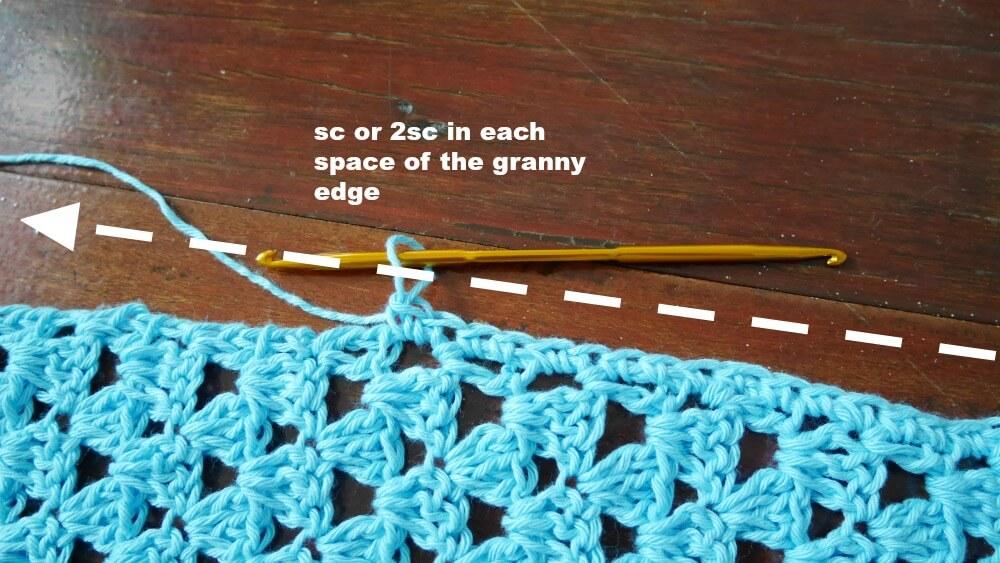 Modern Summer Top Tee Free Crochet Pattern