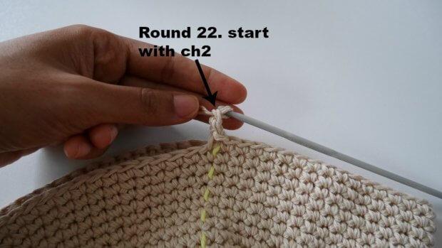 easy peasy crochet sunn hat