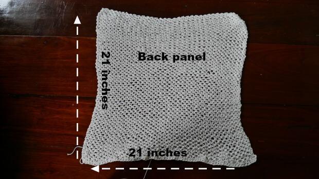 back panel cardigan