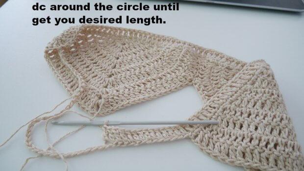 crochet bikini top easy tutorail