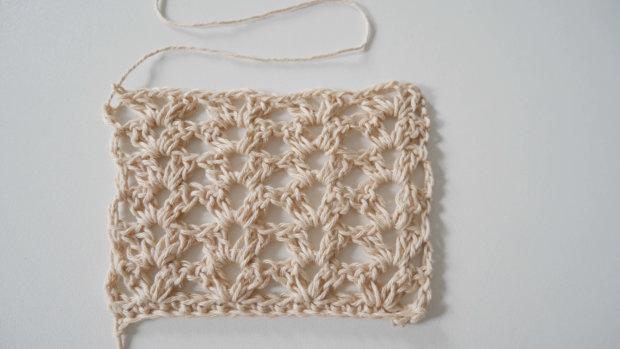 fancy lace crochet stitch | jennyandteddy