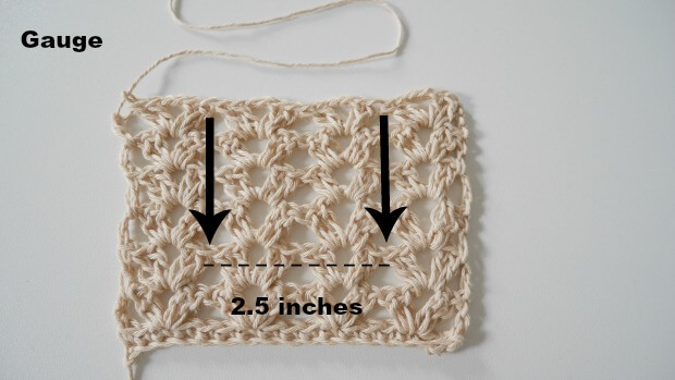 gauge fancy lace crochet stitch4