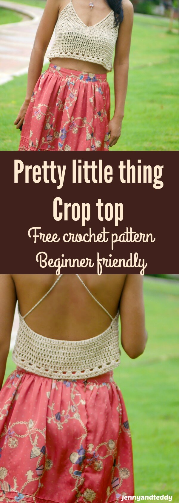 summer crop top pretty little thing crop top free crochet pattern