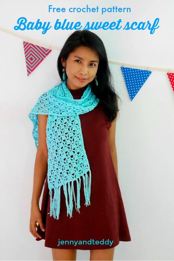 easy crochet scarfs