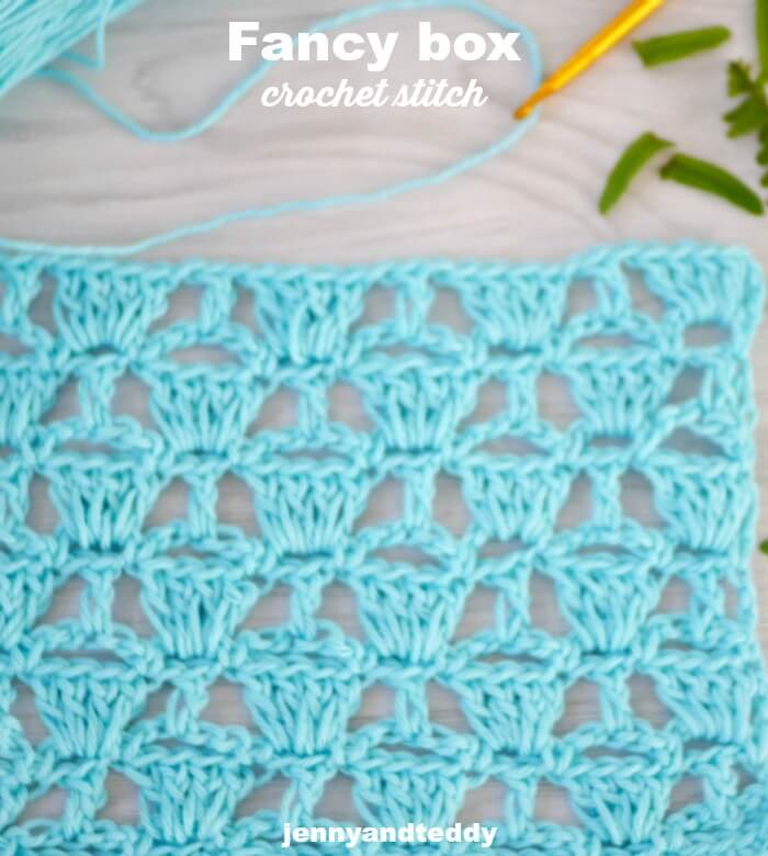 crochet fancy lace box stitch
