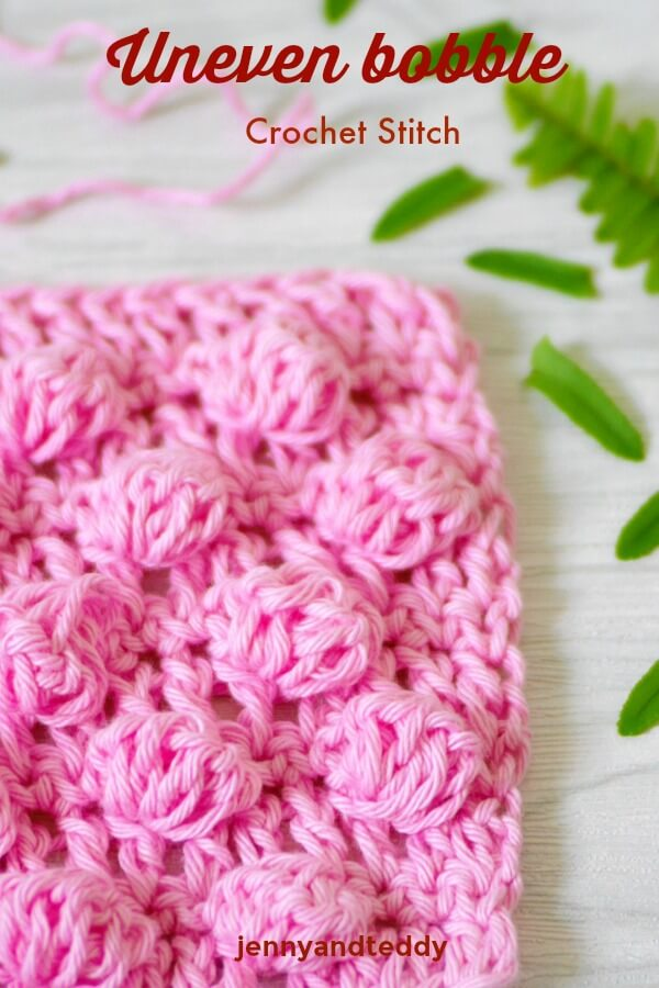 bobble crochet stitch