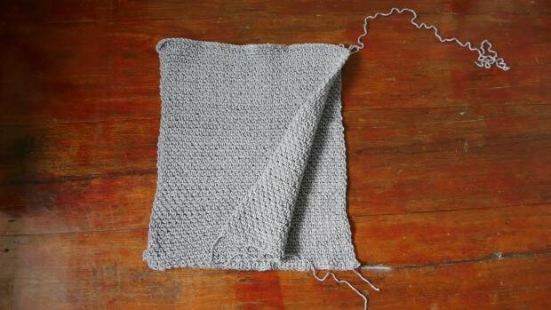 crochet rectangle poncho easy for beginner.