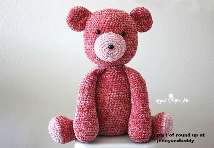 velvet amigurumi teddy bear image