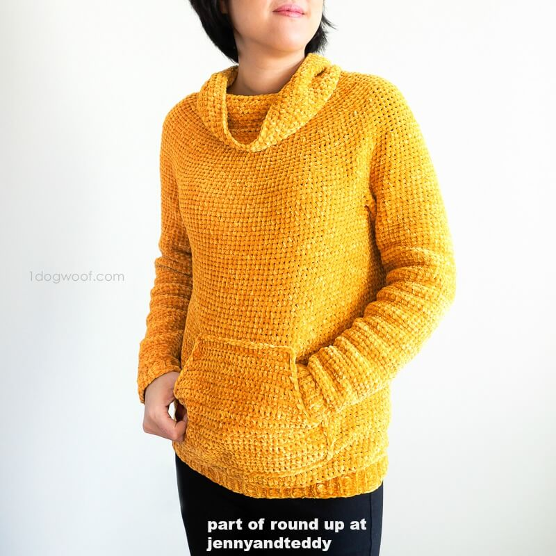 easy mysa crochet sweater image