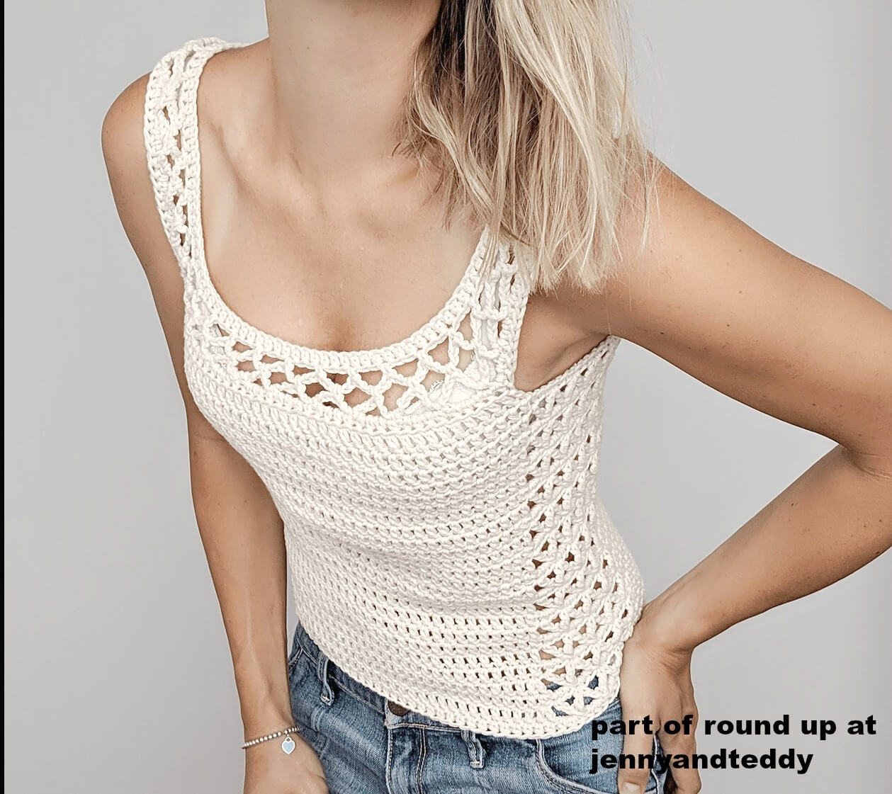 10 Free Easy Crochet Tank Top Patterns For Summer