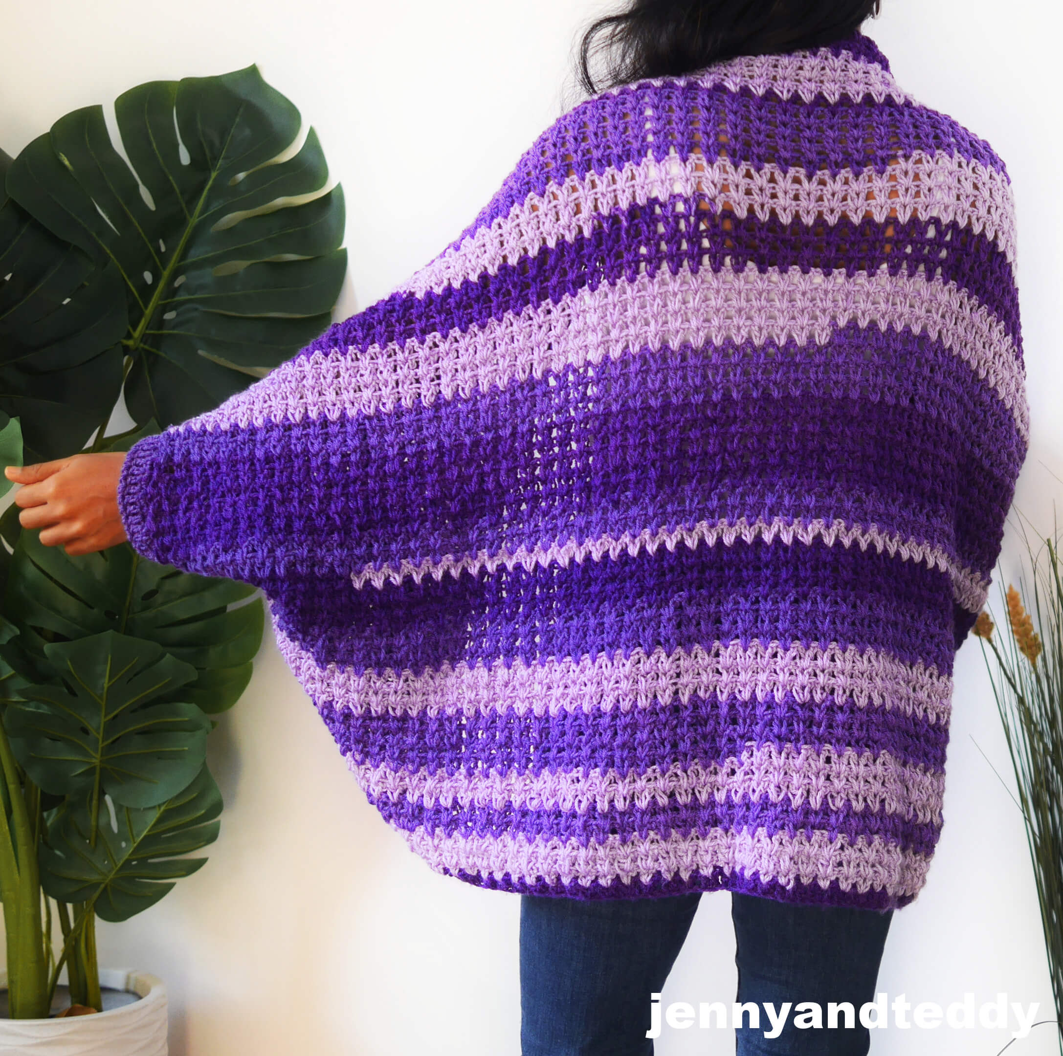 beginner crochet cocoon tutorial and free pattern