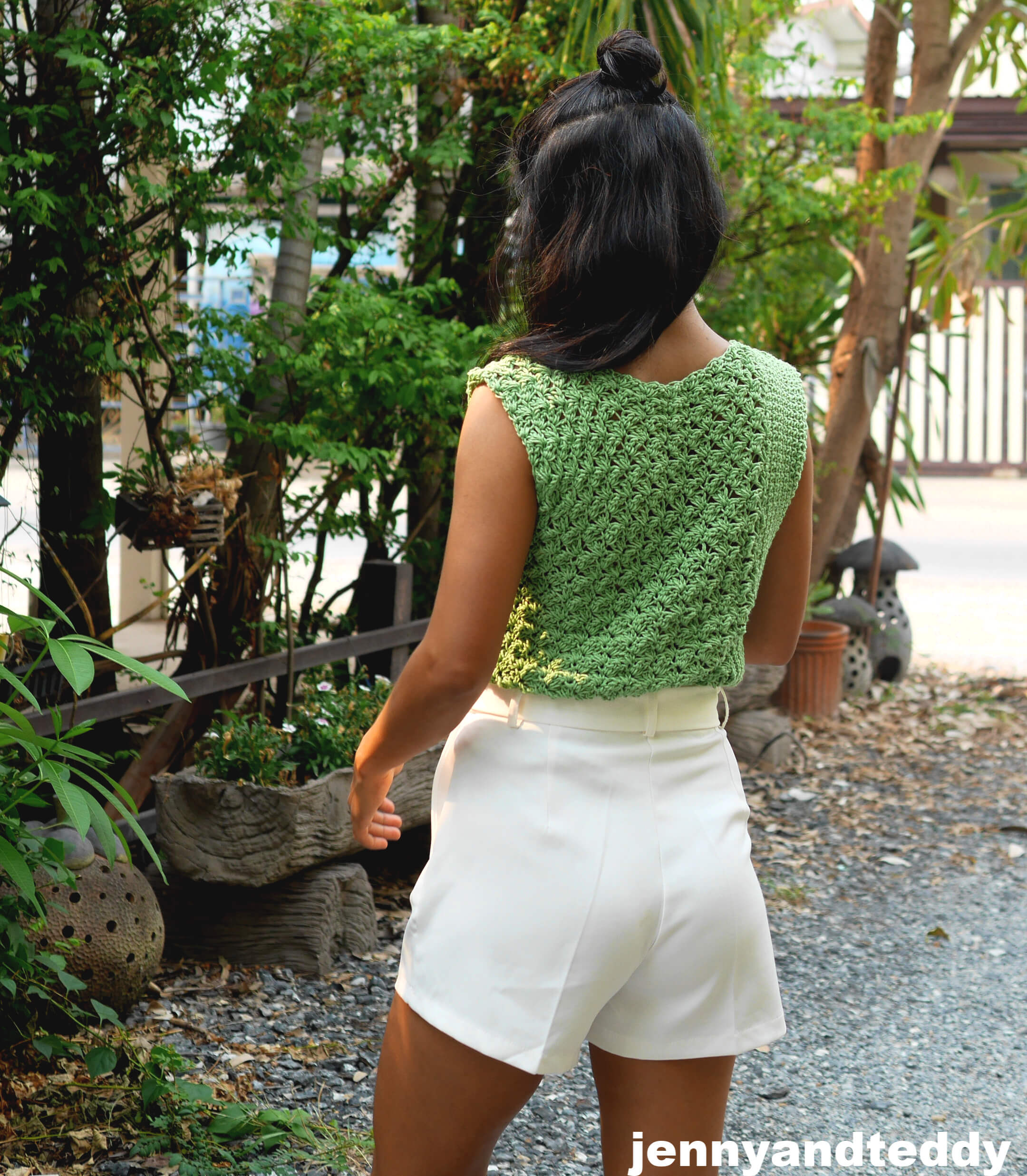 crochet top summer