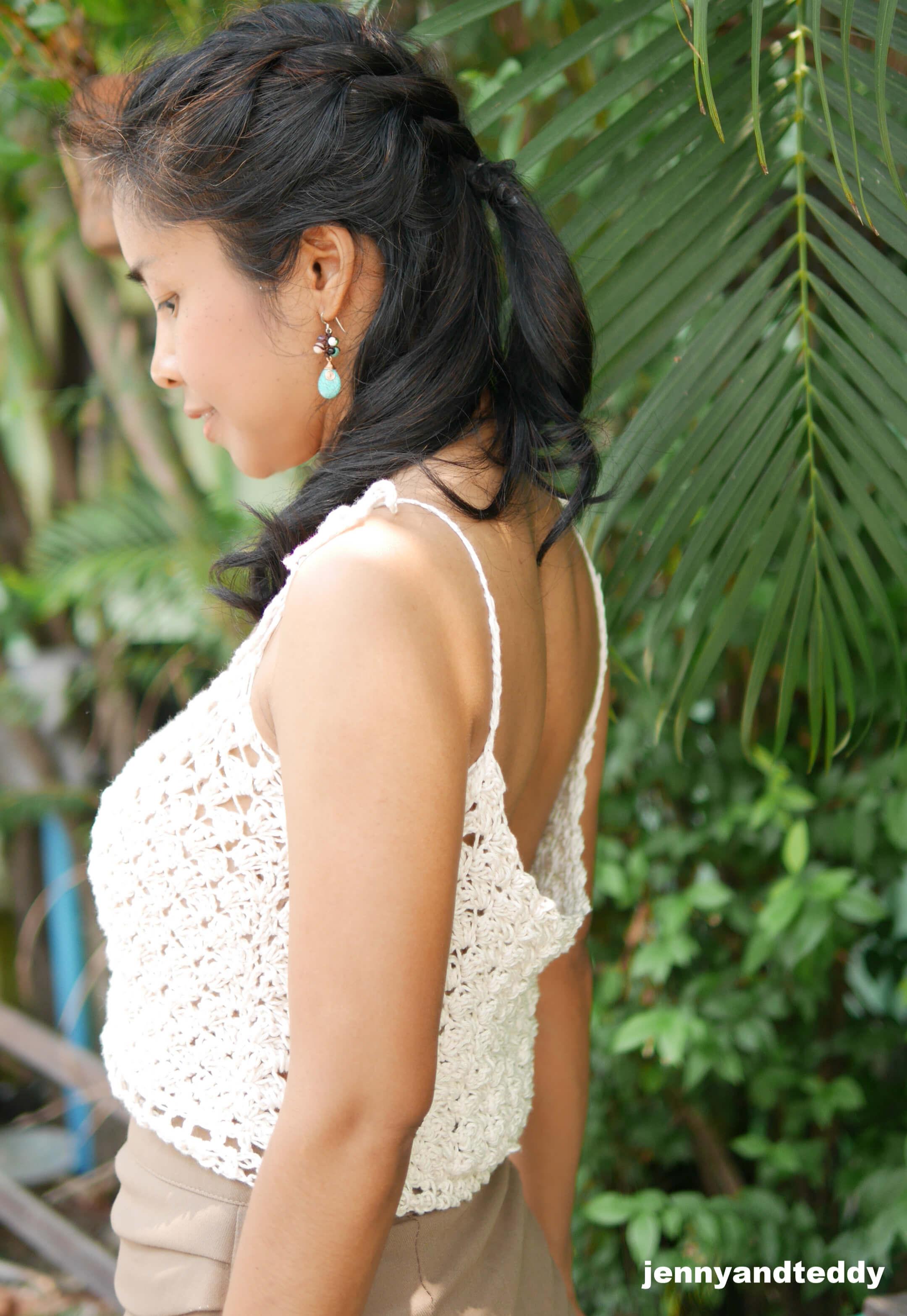 jasmine rice crop top tutorial