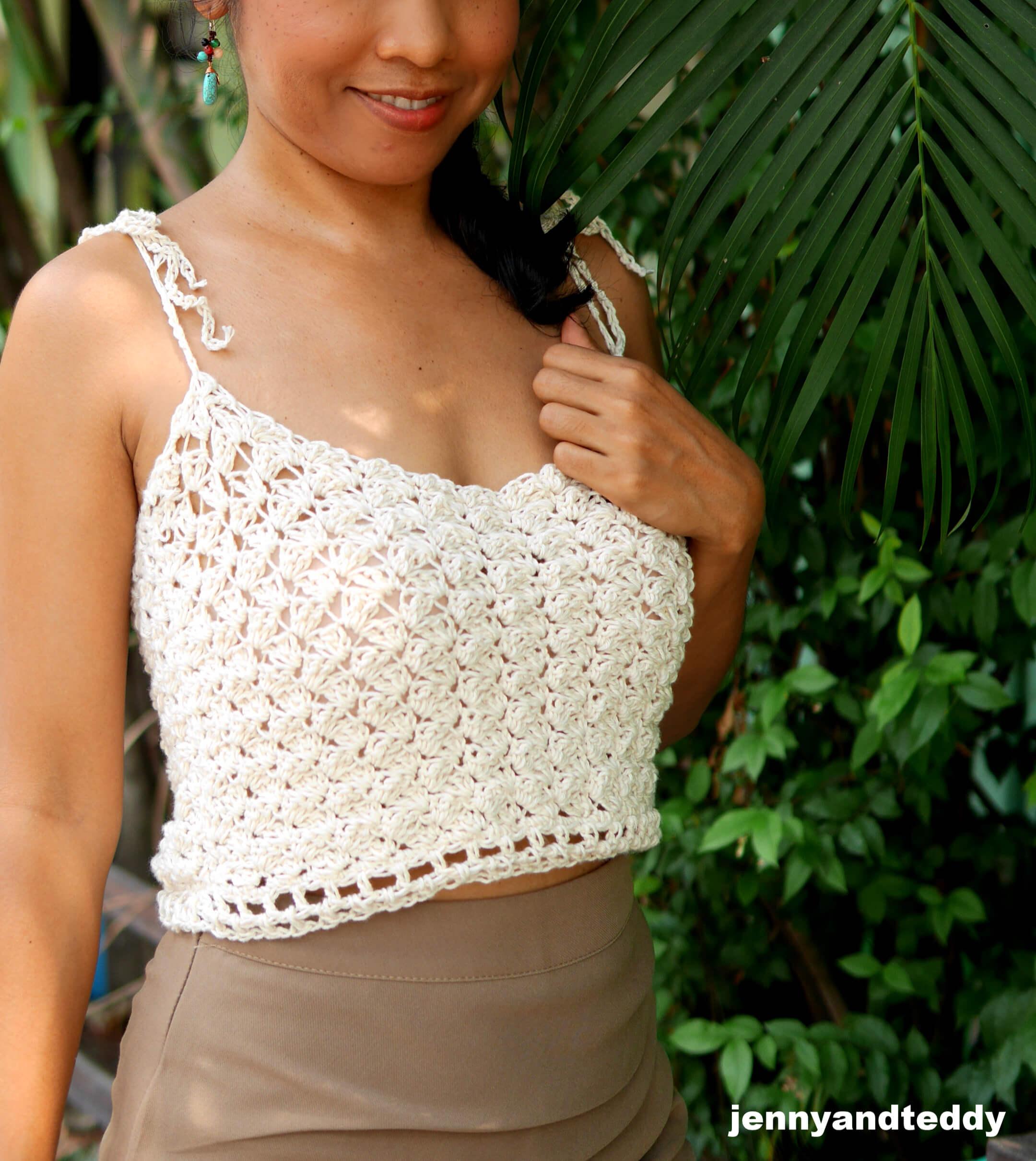 jasmine rice crop top crochet tutorial1