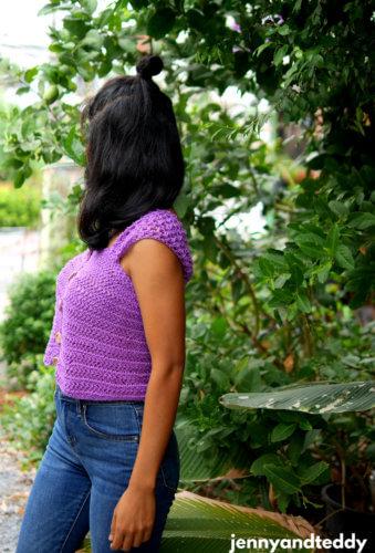 easy and quick crochet crop