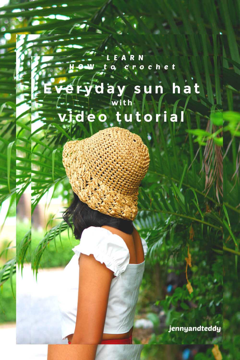 everyday sun hat free crochet pattern