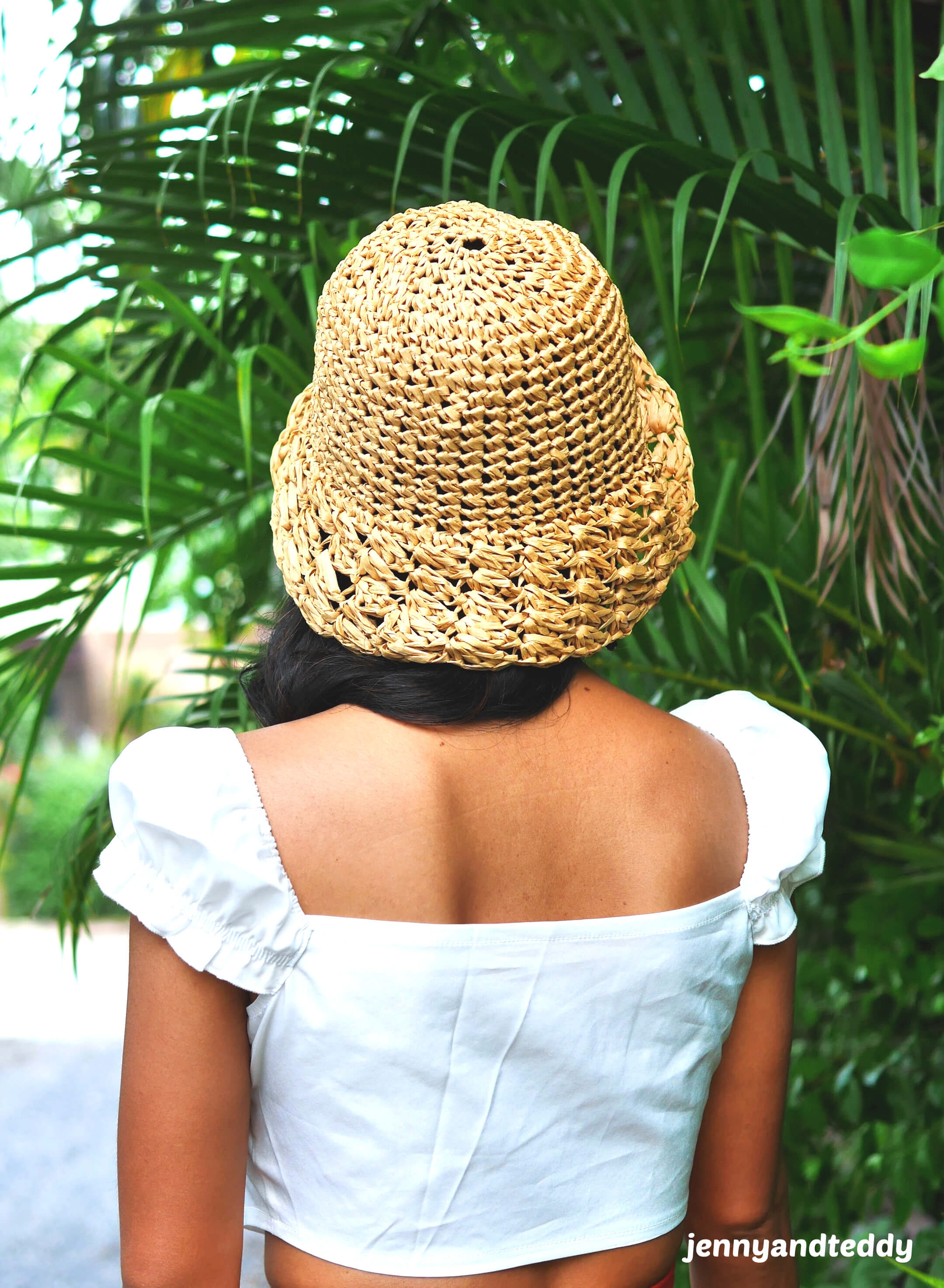quick and easy crochet bucket hat free how to tutorial.