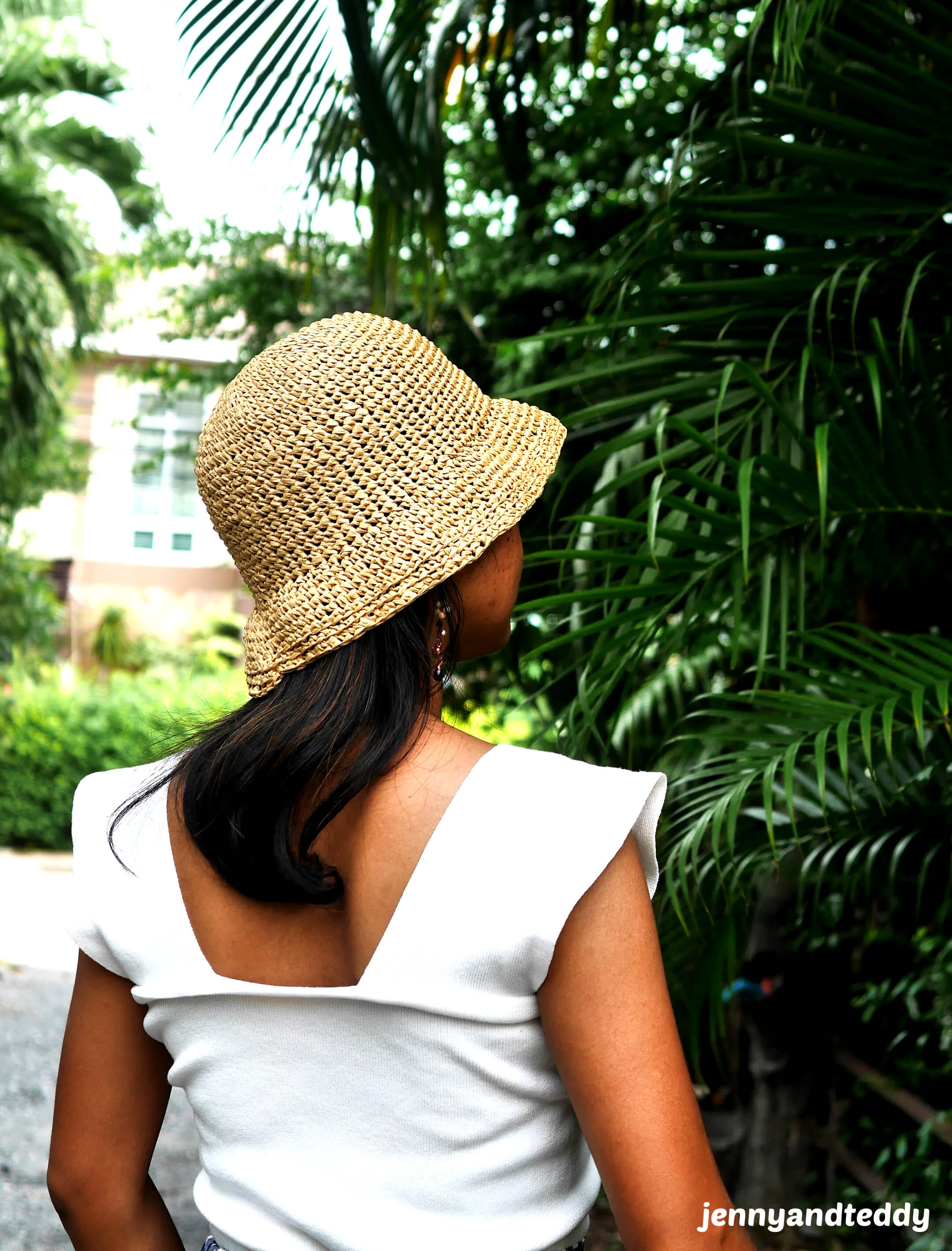 crochet sun hat with bucket style free how to crochet video tutorial