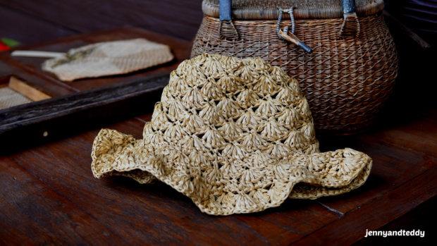 easy crochet sunhat