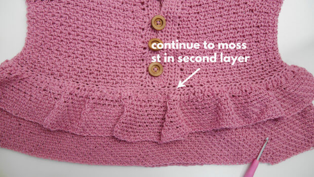 2 layer crochet camisole top cami top8