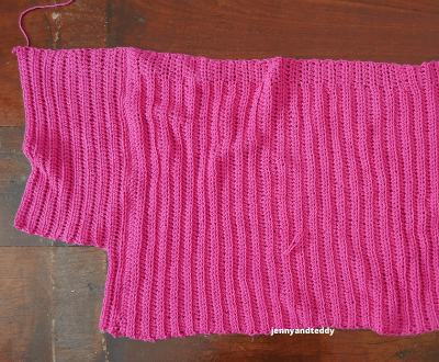 crochet slit skirt free tutorial.
